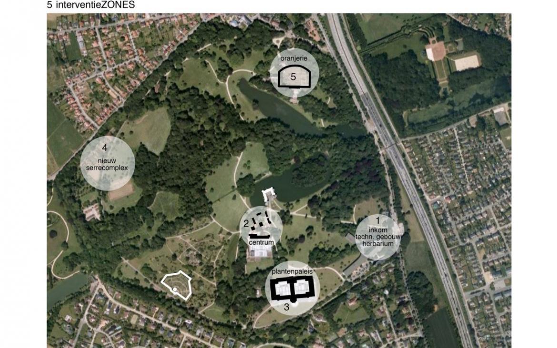 Masterplan National Botanic Garden Belgium